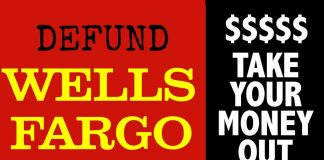 Defund Wells Fargo
