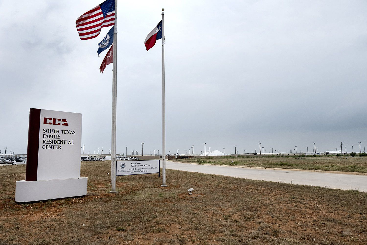 The South Texas Family Residential Center is an immigrant detention center in Dilley, about 70 miles southwest of San Antonio.