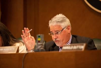 Chairman of the House Public Education Committee and State Rep. Dan Huberty, R-Houston, hears public testimonies during the House Public Education Committee meeting on March 12, 2019.