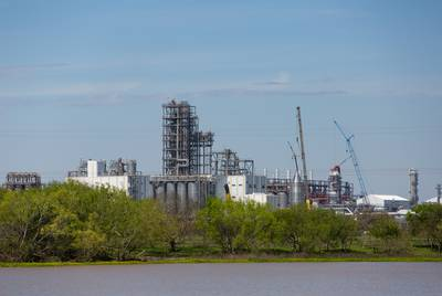 Formosa Plastics Corporation's plant in Point Comfort, Texas on March 20, 2019.