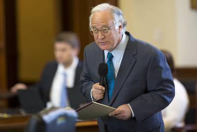 State Sen. Kirk Watson, D-Austin, has filed two bills aimed improving Texas' open government laws.