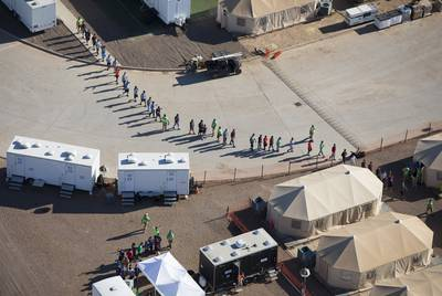 The Trump administration's now-blocked policy to separate all migrant children from parents led social workers to frantically begin tracking thousands of children seized at the southern border and compile reports on cases of trauma.
