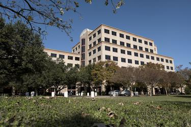 The Brown Heatly Health and Human Services building in Austin, Texas on Nov. 29, 2017.