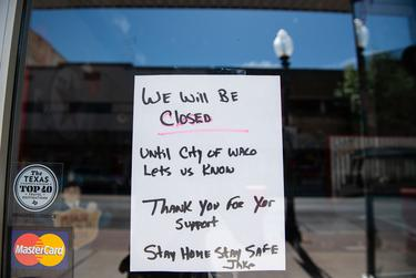 With businesses closed across the state, some Texans have found themselves out of work.