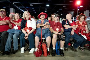 The Republican Party of Texas hosted its 2018 convention in San Antonio.