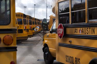 Transportation is one of the biggest challenges for school districts, which already have trouble hiring enough bus drivers during normal circumstances. Austin ISD plans to provide hand sanitizer on buses, require drivers to wear facial coverings, and separate students' seat assignments.
