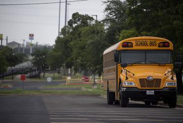 A University of Texas/Texas Politics Project poll found 65% of Texas registered voters think it's unsafe to send kids back to class right now.