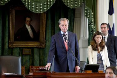 Lt. Gov. David Dewhurst ends the 83rd regular session an announces a special session to begin at 6:00PM on May 27, 2013.